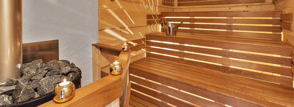 Fínska sauna po lyžovačke