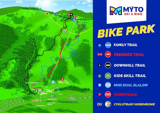 Bikepark trate mapa small