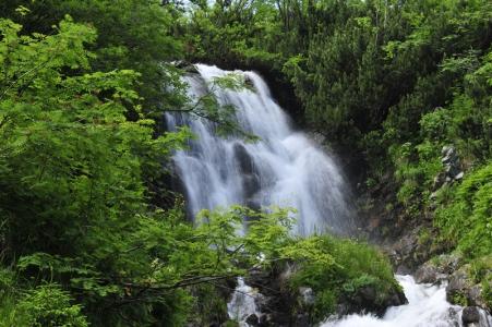 Vajskovske vodopady Nizke Tatry